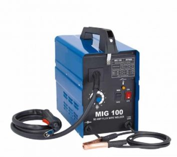 90 Amp 120v Wire Feed Portable Mig Welder