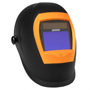 Jackson Safety BH3 Auto Darkening Welding Helmet with Balder Technology (37191), WH70, Black/Orange