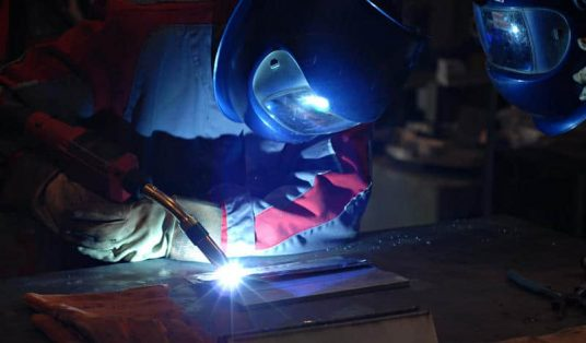 Wire Welder working